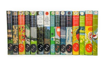 Lot 69 - New Naturalists. Numbers 41-55, London: Collins, 1960-72. 15 volumes, 8vo, original green...