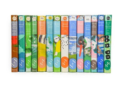 Lot 70 - New Naturalists. Numbers 56-69, London: Collins, 1973-83. 14 volumes, 8vo, original green...
