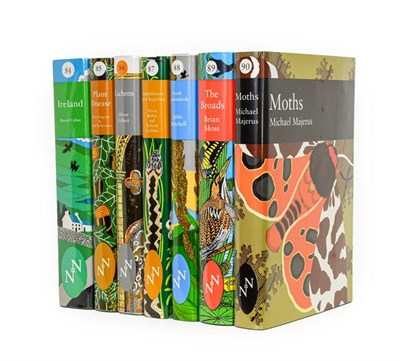 Lot 71 - New Naturalists. Ireland; Plant Disease; Lichens; Amphibians and Reptiles; Loch Lomondside; The...