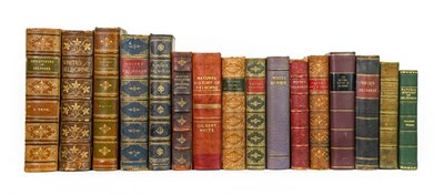 Lot 82 - White (Gilbert). Group of finely bound copies of The Natural History and Antiquities of...