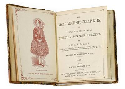 Lot 90 - Baynes (Mrs G. J.). [Sammelband of knitting and needlework manuals], London: Simpkin, Marshall...