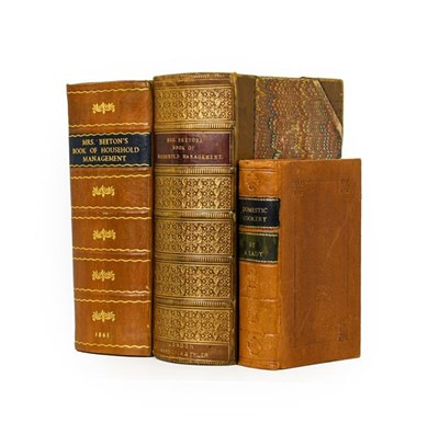 Lot 91 - Beeton (Isabella). The Book of Household Management, 1st edition, later issue, London: S. O....