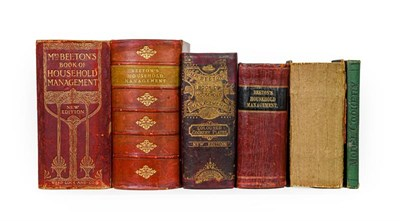 Lot 92 - Beeton (Isabella). The Book of Household Management, 5 copies, mixed editions, comprising: 1)...