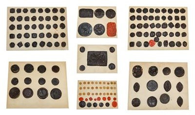 Lot 256 - A Collection of ''Grand Tour'' Composition Seal Impressions, 18th/19th century, taken from...