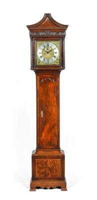 Lot 289 - An Irish Mahogany Eight Day Longcase Clock, signed Alexr Gordon, Dublin, circa 1780, pagoda...
