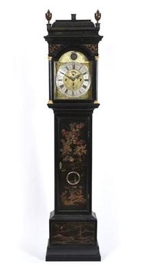 Lot 290 - A Rare Chinoiserie Quarter Chiming Longcase Clock, signed Jos Green, North Shields, circa 1730,...