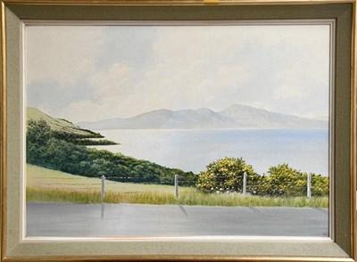 Lot 1014 - Leon O' Kennedy (1900-1979) Irish estuary scenes, a pair, signed, oils on board, 54cm by 77cm (2)