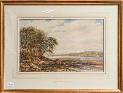 Lot 1018 - James Orrock RI (1829-1913) Near Dalmeny, Firth of Forth, signed, watercolour, 29.5cm by 47cm...