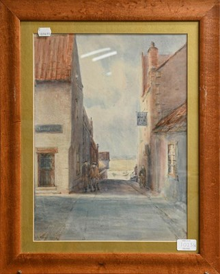 Lot 1023 - William Whitehead (19th/20th century) A pair of landscape watercolours together with a pair of...