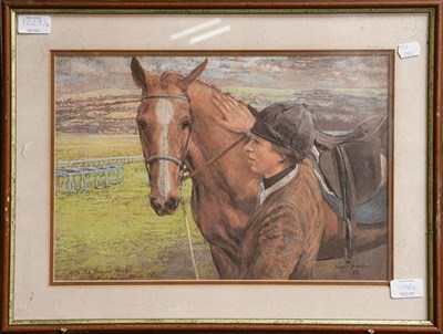 Lot 1029 - After Roger Inman four equestrian prints, the Duchess of York, Vonjo O' Neal, Princess Anne at...