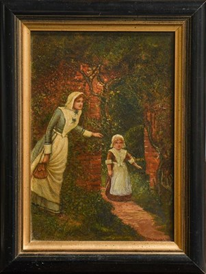 Lot 1033 - Three oil paintings including a portrait (3)