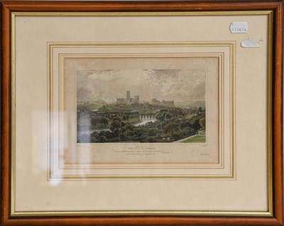Lot 1039 - A collection of 20th century prints after Meissonier together with further prints of Durham and...