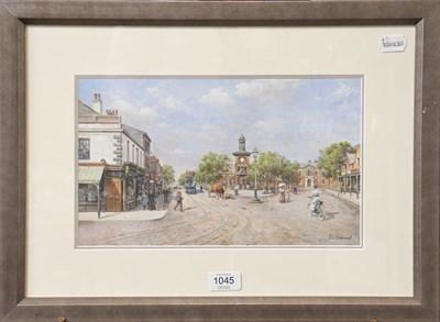 Lot 1045 - John L Chapman (b.1946) Lytham St Annes, signed, gouache, 20cm by 34cm  Artist's Resale...