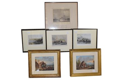 Lot 1071 - A large collection of 19th/20th and 21st century pictures and prints to include Watercolour...
