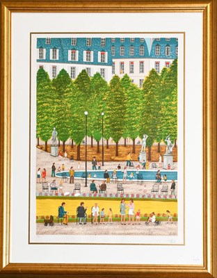 Lot 1078 - After Francois 'Fanch' Ledan (French, b. 1949) artist proof of a golf course and a further print by