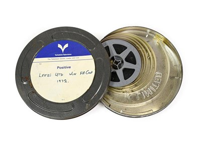 Lot 3005 - Leeds United Win FA Cup 1972 8mm Film Positive in Yorkshire Television canister