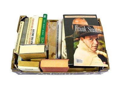 Lot 3010 - Signed Books Kenneth Williams - Just Williams; William Roache - Ken and Me; Christopher Milne -...