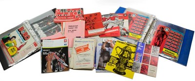Lot 3023 - Middlesbrough Football Club A Collection Of Programmes including 1950s: v Leyton Orient 1958...