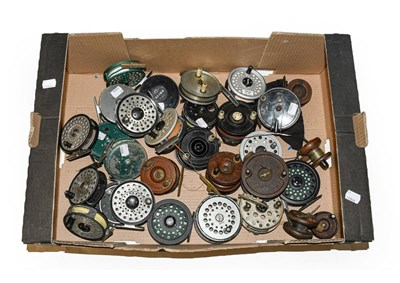 Lot 3039 - A Collection Of Assorted Fly Reels by various makers including Daiwa, Roddy, Sharpes, Youngs,...
