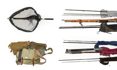 Lot 3045 - A Collection Of Mixed Tackle comprising of rods by various makers to include Shakespeare,...