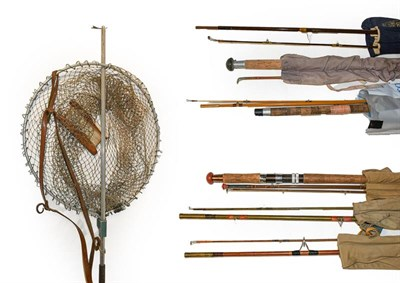 Lot 3048 - A Collection Of Mixed Tackle to include assorted fly and spinning rods by various makers...