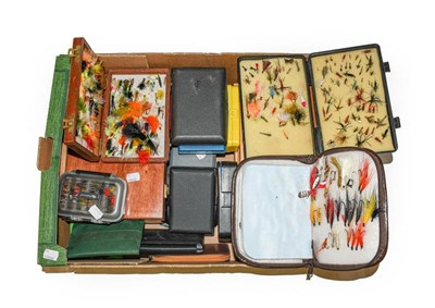 Lot 3053 - A Collection Of Various Fly Boxes And Reservoirs by various makers including Hardy, Wheatley,...