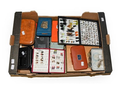 Lot 3054 - A Collection Of Various Fly Boxes by various makers including Hardy, Fox Box, Shakespeare,...