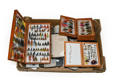 Lot 3055 - A Collection Of Various fly Boxes by various makers including Wheatley, Snowbee, C&F and...