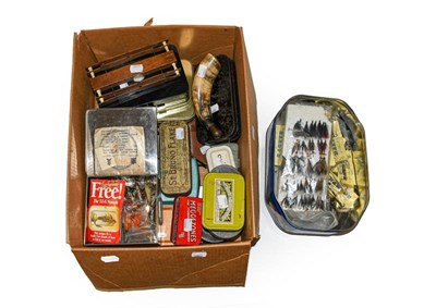 Lot 3056 - A Collection Of Various Fly Boxes, Fly Wallets, Lures And Accessories by various makers...