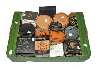 Lot 3057 - A Collection Of Various Fly Reels And Spools, various makes and models by Airflo, Pfluger,...