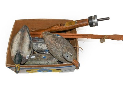 Lot 3065 - A Collection Of Various Sporting Items. Comprising of a Hardy Gem fly reel with an Atkinsons 3...