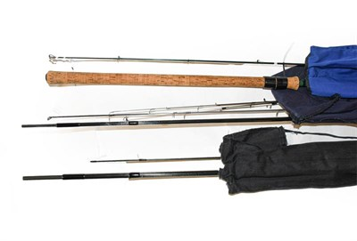 Lot 3068 - A Greys Barbel by Martin James 12' Two Section 6-10lb Coarse Rod along with a Graham Phillips...