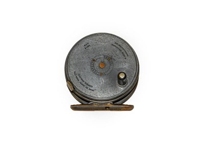 Lot 3072 - A Hardy 3 1/8'' Duplicated MkII Perfect Trout Fly Reel with RHW, brass foot and ebonite handle