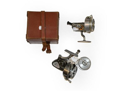 Lot 3075 - A Hardy Altex No2 MKV Spinning Reel along with a Hardy Exalta and spare spool. (3)