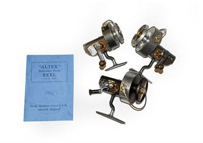 Lot 3076 - A Hardy Altex No3 MK IIII Spinning Reel with left hand wind. A Hardy Altex No3 spinning reel...