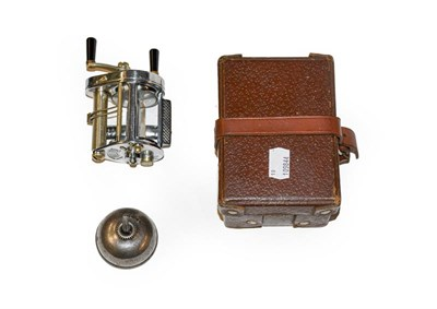 Lot 3079 - A Hardy Elarex Casting Reel complete with box