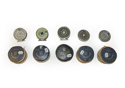 Lot 3082 - A Hardy Marquis #10 Fly Reel together with a further similar model and a Hardy Marquis fly reel...