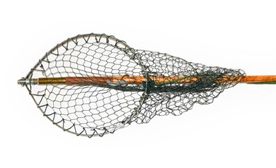 Lot 3093 - A Hardy Simplex Trout Wading Net.