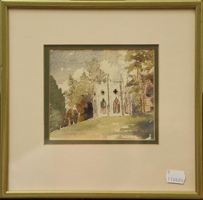 Lot 1014 - A pair of English School late 19th century Country Landscapes, indistinctly monogrammed and...