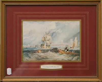 Lot 1023 - Norman Robert Shaw (20th century) A View of Whitby, Signed and dated (19)85, watercolour and...