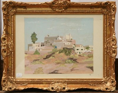 Lot 1024 - W Robert Shaw (Contemporary) A pair of watercolour views, one of Bamburgh Castle and another a...