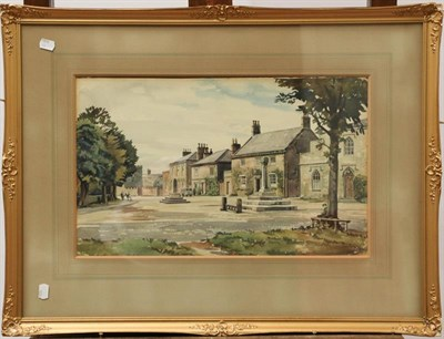 Lot 1025 - Walter Horswell (20th century) Three signed watercolour views of Yorkshire villages and towns, 30cm