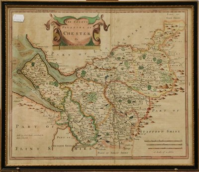 Lot 1026 - Three Robert Morden maps, to include Derbyshire, The County of Chester, and Yorkshire (3)
