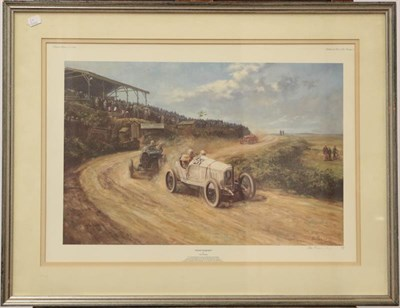 Lot 1068 - Alan Fernley, 20th century signed limited edition print entitled 'Team conquest and silver...