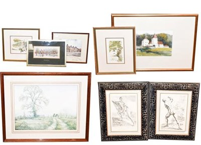 Lot 1075 - A large collection of mainly 20th/ 21st century pictures to include prints after old masters,...
