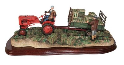 Lot 4 - *  Border Fine Arts 'Cut and Crated' (Allis Chalmers Tractor), model No. B0649 by Ray Ayres,...