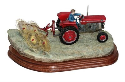 Lot 7 - *  Border Fine Arts 'Fine Weather Work', model No. B1236 by Ray Ayres, limited edition 419/750,...