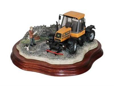 Lot 9 - *  Border Fine Arts 'Frontiers of Farming' (JCB Fastrac), model No. B0273 by Kirsty Armstrong,...