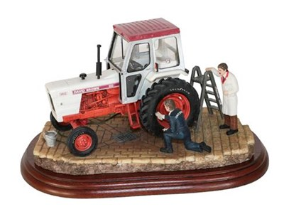 Lot 11 - *  Border Fine Arts 'Getting Ready For Smithfield', model No. A2143 by Ray Ayres, on wood base,...
