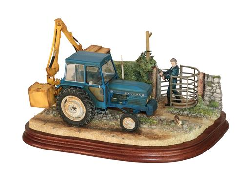 Lot 14 - *  Border Fine Arts 'Hedge Trimming', model No. B1098 by Ray Ayres, limited edition 51/950, on wood